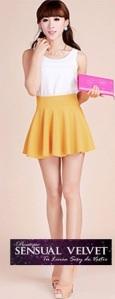 Free-shipping-2014-New-Fashion-Women-s-Skater-Girl-s-Candy-Elastic-High-Waist-Skater-Mini[1]
