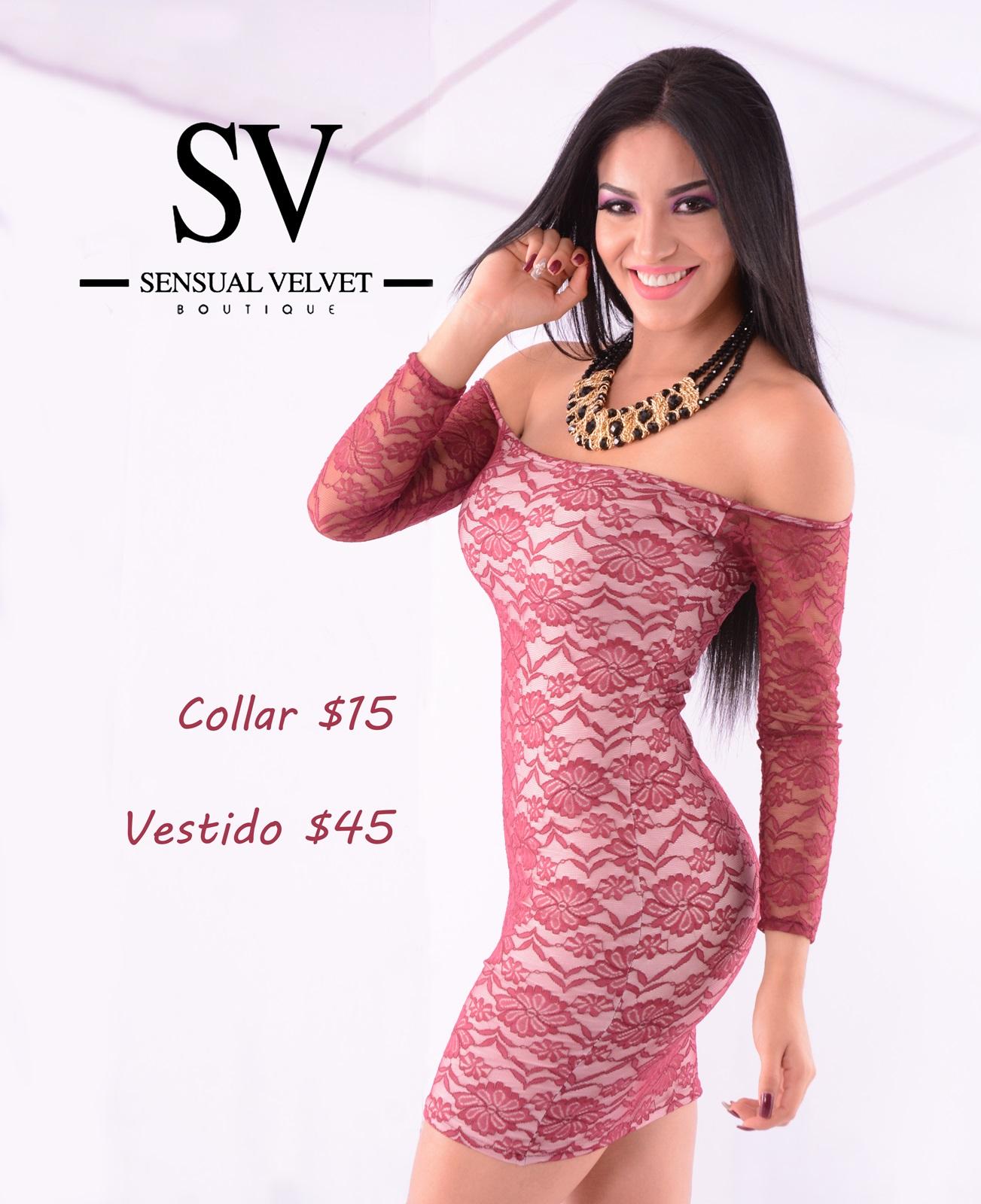 vestido de encaje | Sensual Velvet