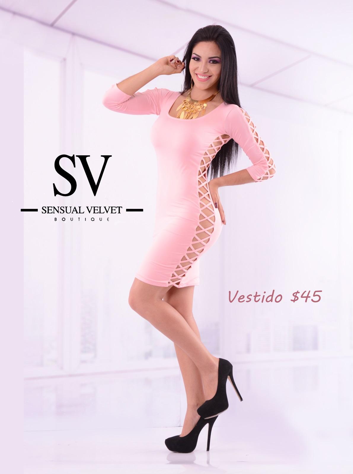 91aa98e0f Vestido Licra tendencia moderna